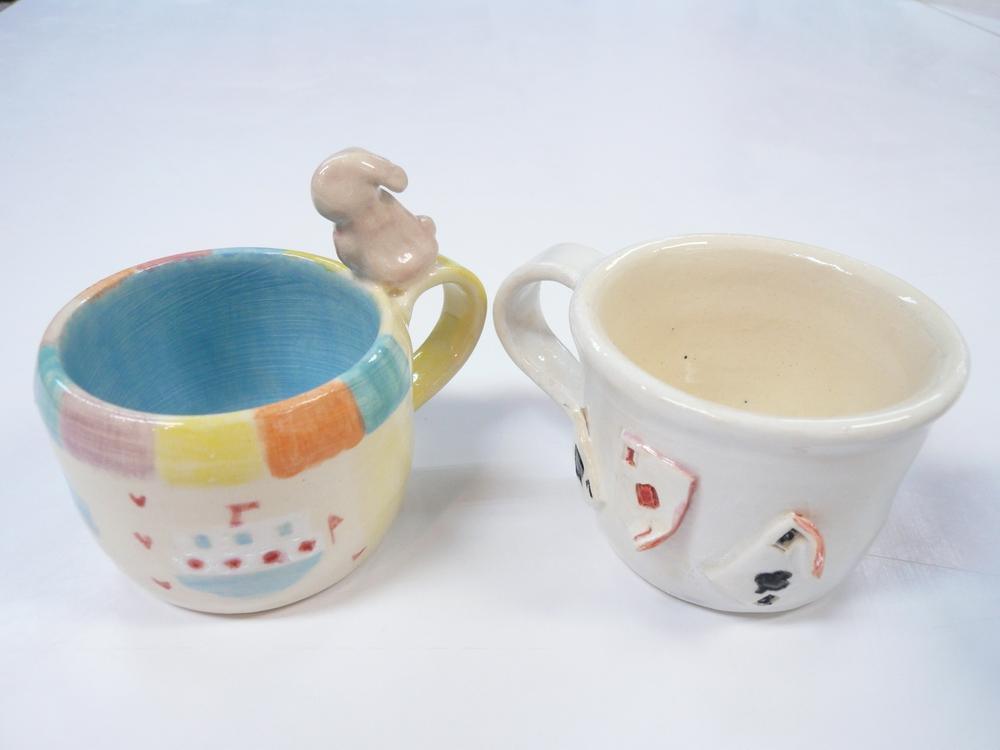陶艺创作体验班作品